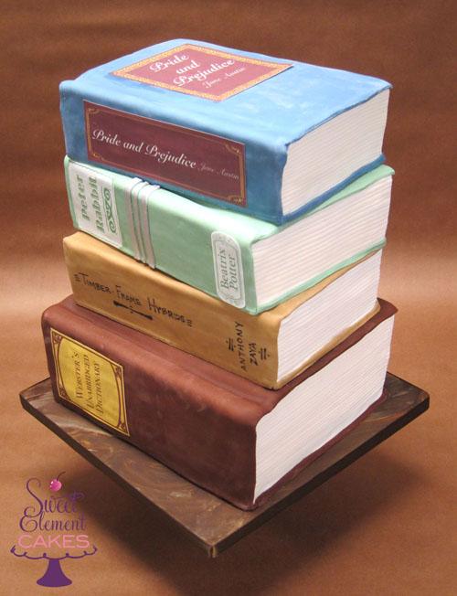 Outstanding Book Birthday Cake Polysyllabic Profundities Funny Birthday Cards Online Alyptdamsfinfo