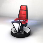 chair on the voice