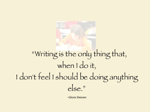 writing quote