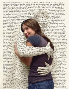 hugging words