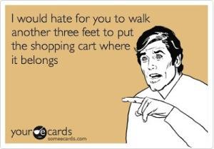 Shopping Cart Walk